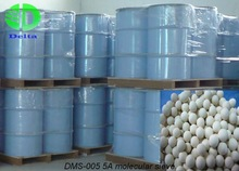 Molecular sieve for oxygen concentrators