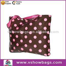 Polka Dot Tote wholesale zipper nylon beach towel bag