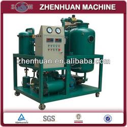 Vacuum oil filtrating plant