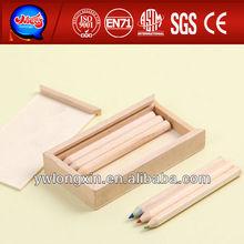 color pencil wooden box