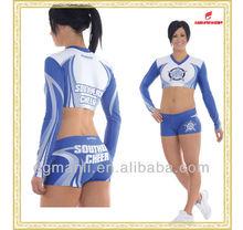 top quality cheerleader costume,cheerleading dance uniforms,sexy cheerleader costume