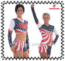 allstar cheerleading uniforms,spendex cheerleading uniforms,sublimation cheerleading costume