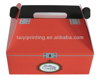 2013 high quality wholesale paper cardboard lunch box
