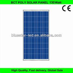 High quality price per watt solar panel 130w