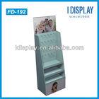 Floor stand cardboard peg/hook tier display