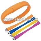 Wristband bracelet USB flash drive, memory thumb drive, usb gift