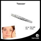 shinny finished eyebrow scissors tweezer with holes