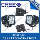 Hot! 20w cree 5w/pcs led bulb super waterproof led driving light led work light 12 volt
