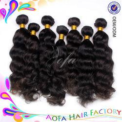 Unprocessed wholesale cheap 100% virgin indian loose curl human hair weaving