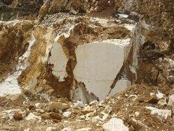 raw marble stone