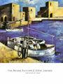 100% hechos a mano barco abstracto pintura al óleo sobre lienzo