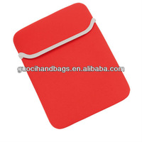 factory wholesale neoprene laptop sleeve/ tablet pouch perfect for promotion