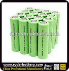 LiFePO4/LiMnO4/LiCoO2 18650 dimension de la batterie with high capacity