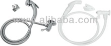 Chromed and Plastic Toilet Hose