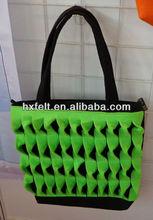 Fashion felt shopping bag tote bag