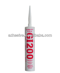 Red glass silicone sealant 280ml