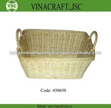 paglia cestino del pane in materiale naturale