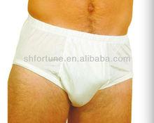 100% Nature silk men's underpant sexy men boxer briefs, European size