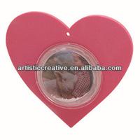 EVA Die-Cut Photo Water Globe Magnet