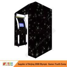 cabina de fotos y etiqueta de fotos para la máquina expendedora