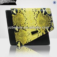 Wholesale fashion python patchwork leather bags