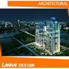 Architectural design and architecture rendering