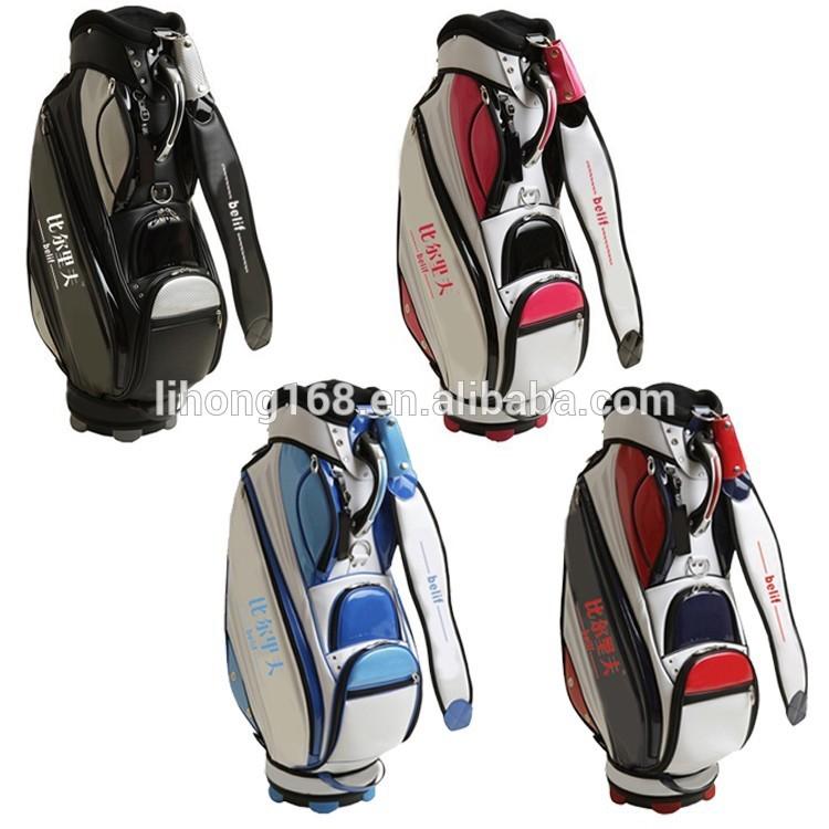 best selling high end golf bag new design golf bag