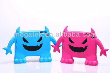 for ipad case eva, for ipad mini case for kids , Cute Devil design Shockproof EVA case for ipad mini
