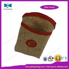 7x12cm phone package bag jute bag