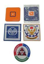 Soft PVC customized mug placemats and coasters/pads
