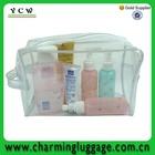 new 2014 pratical toiletry bag pvc transparent for promotion