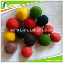 Handmade Felt craft & Wool felt balls rug & Christmas ball