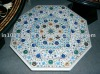 Moughal White Marble Inlay table TOP