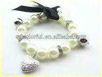 YB2190 crystal bracelet wholesale plastic pearl strands