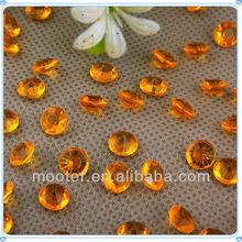 Wholesale Orange Acrylic Round Bead For Event Decoration