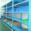 3 prateleira camada de armazenamento pesados metal prateleira de exposição