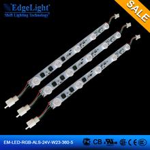 edgelight rgb led strip light replace LGP as backlight