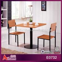 E0732 modern cheap bbq table and chairs set