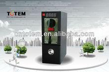 temporizador de la moneda caja de cabina de fotos de la máquina expendedora de ventas
