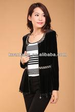 2014 new black lady jacket