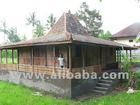 Teak Joglo House and Gazebo For sale