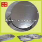 HOT!0.3-1mm factory supply silver disposable paper lids for foodstuff
