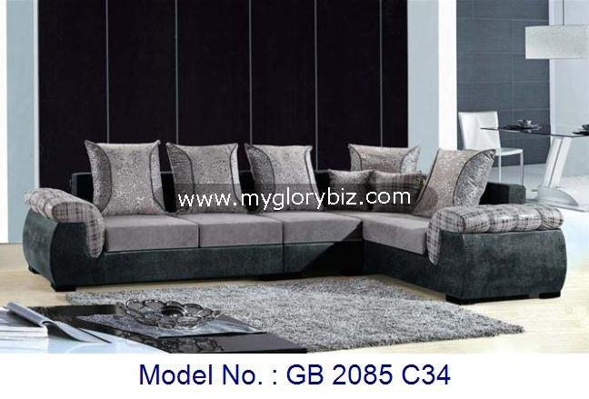 L 39 shape sofa modern living sofa living room furniture for V shaped living room