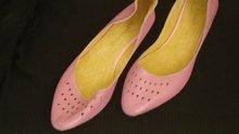 Pure leather shoe