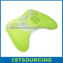 Green silicon case for Xbox360