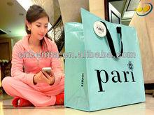 2013 eco pp non woven luxury shopping bag