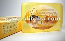Sense of Thai... MIRA HERBAL SOAP (TURMARIC)