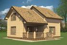 Prefabricated Log House Wooden Villa Cheap Prefab Homes