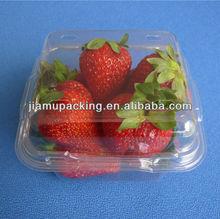 2013 hot popular transparent pet fruit box packaging