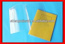 professional manufacturer transparent PVC Book Cover